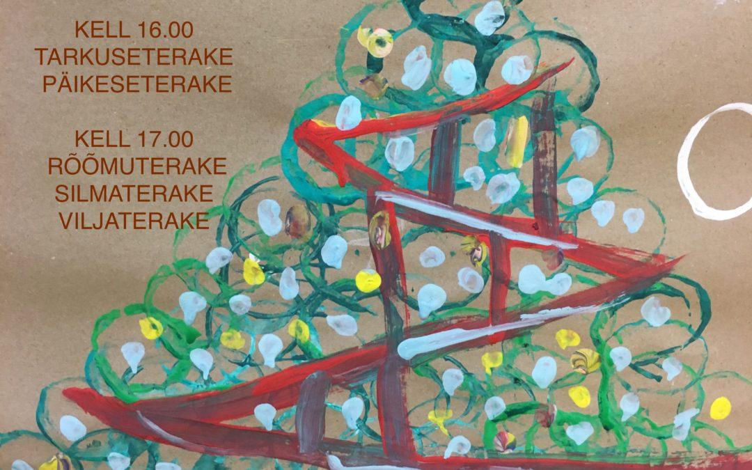 Terake jõulukontsert 13. jaanuar