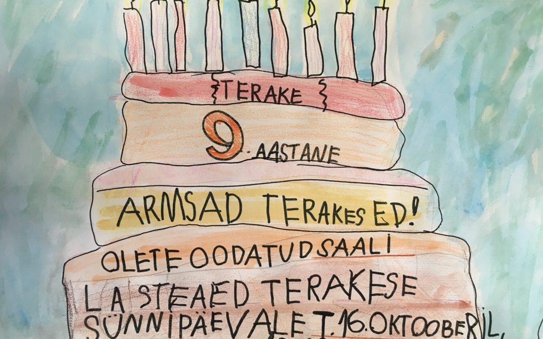 Terake sünnipäev 16.oktoober
